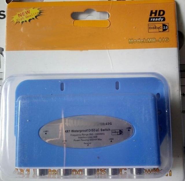 Digital DiSEqC Switch Hingh quality waterproof Satellites FTA TV LNB Switch For Satellite Receiver
