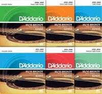 D Addario EZ910 Great American Bronze Light Acoustic Guitar Strings 011 052