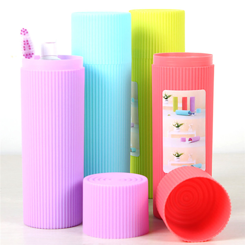 Corrugated Wash Gargle Cup Tooth Mug Toothbrush Portable Candy Colors  Travel Camping Toothpaste Storage Bathroom Accessories