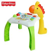 Fisher Price бренд Фишер развивающие настольные детские музыкальные обучения двуязычный машинного Larebord BFH63 детей Растет игрушка