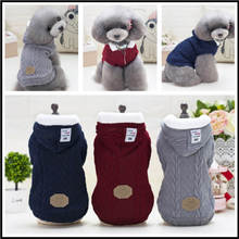 Winter pet coat clothes for dogs clothing Warm Dog small big dog chihuahua