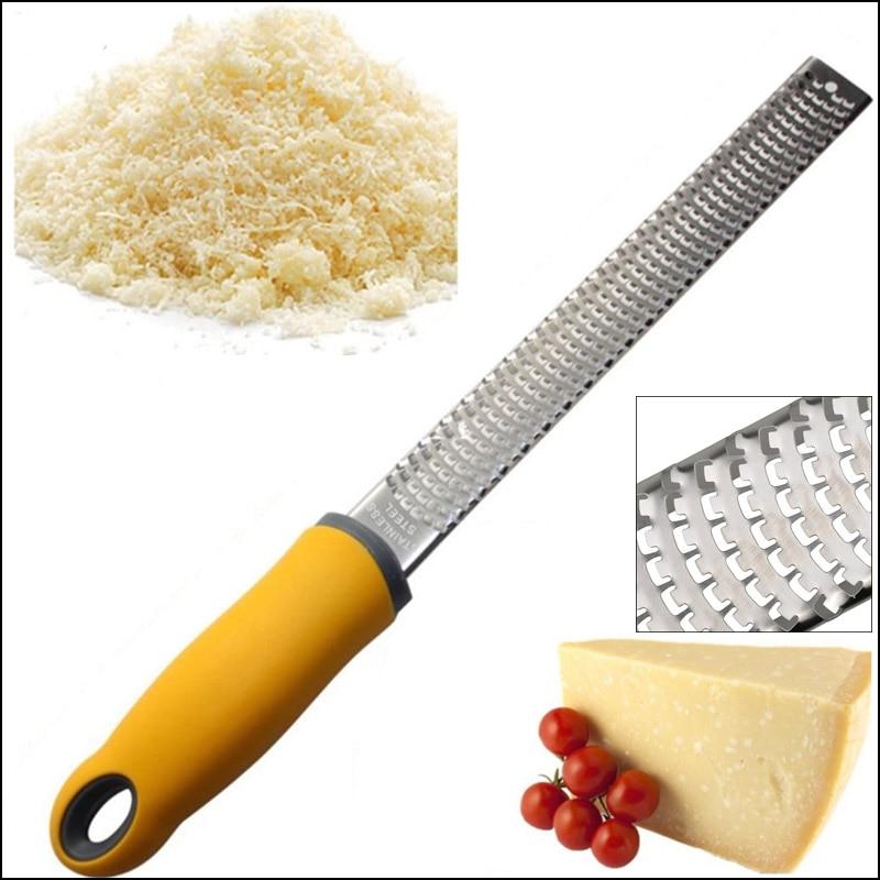 Cozinha De Aço Inoxidável Ralador De Queijo Lemon Ralador Citrus Laranja Descascador De Gengibre