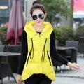 Slim Fit Women Waistcoat Fashion Long Vest Women Winter Sleeveless Jacket Coat for female Spring autumn lady clothing Plus size