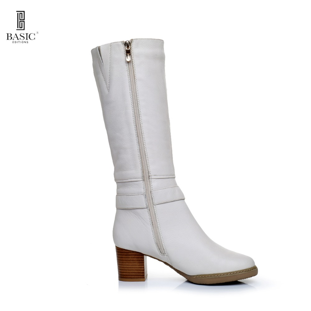 Popular Winter White Leather Boots-Buy Cheap Winter White Leather ...