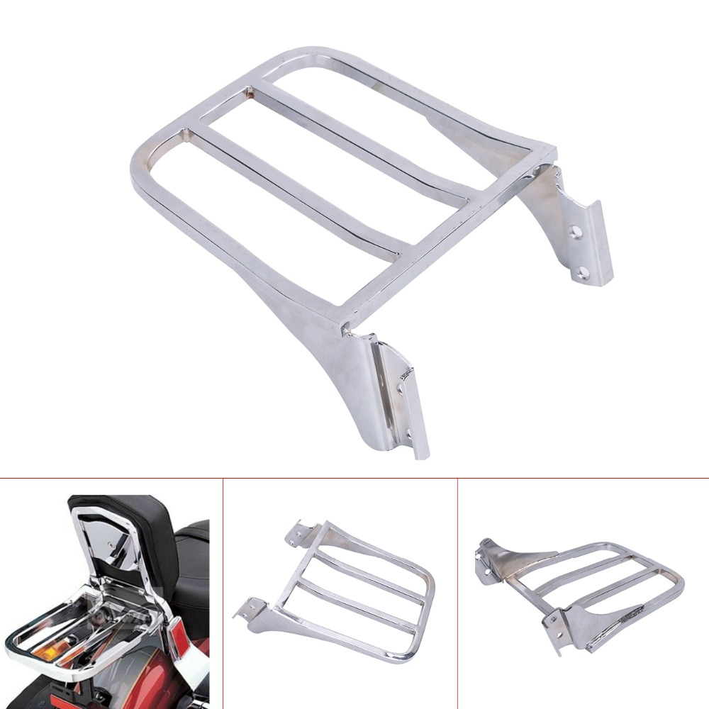 Motorcycle parts Detachable Rear Luggage Rack  For Harley Softail Backrest Sport Softail Dyna Fatboy FLSTF Heritage C/5