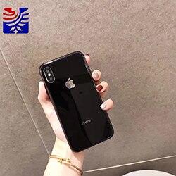 A41 black glass case