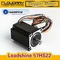 Leadshine 2 фазный Шаговый Двигатель 57HS22 для NEMA23