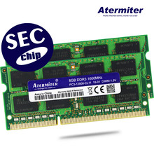 8GB 4GB 2GB 1GB 2G 4G PC2 PC3 DDR2 DDR3 667Mhz 800Mhz 1333hz 1600Mhz 5300S 6400 8500 10600 Laptop memory notebook RAM SEC chip(China)