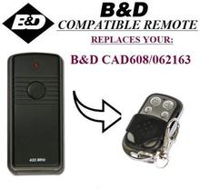 B&D 062170/4333EBD Compatible Remote control .  Universal remote replacement clone duplicator Fixed code 433.92MHz