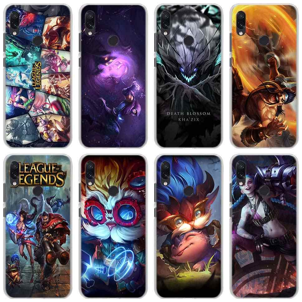LOL League of legends Heroes Telefoon Gevallen voor Xiao mi rode Mi mi A1 A2 8 LITE NOTE 7 5 6Pro 4X5 5A 6A hard case cover