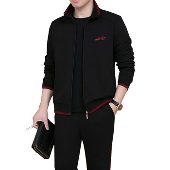 3Piece Set Men Brand Tracksuit Men New Fashion Sweat Suit Tracksuit Three-piece Sweatershirt Set Casual Mens Sportswear Sets zogaa new casual men tracksuit men hoodies sweatshirts with pants set brand new 2 piece set sweat suit mens joggers sets