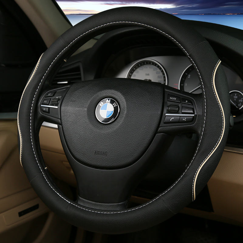 Luxury 3D Four Seasons Universal steering wheel cover, high comfort for all general purpose models