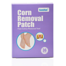 цена на Brand 36Pcs/Box Foot Corn Remover Patch Feet Plaster Callus Removal Tools Foot Detox Patch Feet Care Products Chinese Medicine