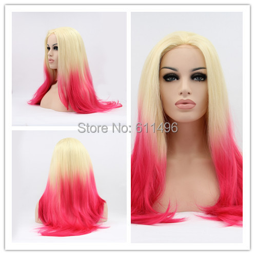 Dip Dye Hair Blonde And Pink Www Pixshark Com Images