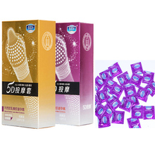 12Pcs 5D Dotted Thread Ribbed G spot Latex Condom Contraceptives condones Spike Condoms for Men penis sleeve preservatif sexo