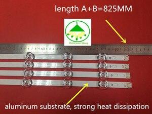 "Image 3 - 825 مللي متر LED الخلفية شريط مصابيح 8 المصابيح ل LG inنوت k DRT 3.0 42 ""_ A/B نوع REV01 REV7 131202 42 بوصة شاشات كريستال بلورية 2 مجموعات"