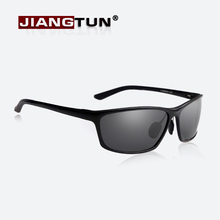 JIANGTUN Special Offer Aluminum Magnesium Alloy Frame Polarized Sunglasses Men's Driver Sunglass Driving Fashion Glasses