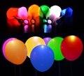 10 шт. 12 дюйм(ов) RGB/Белый Гелия Или Воздуха Gonflable Цветов Воздушные Шары Свадьба Свет Украшения Партия Mariage деко Латекс