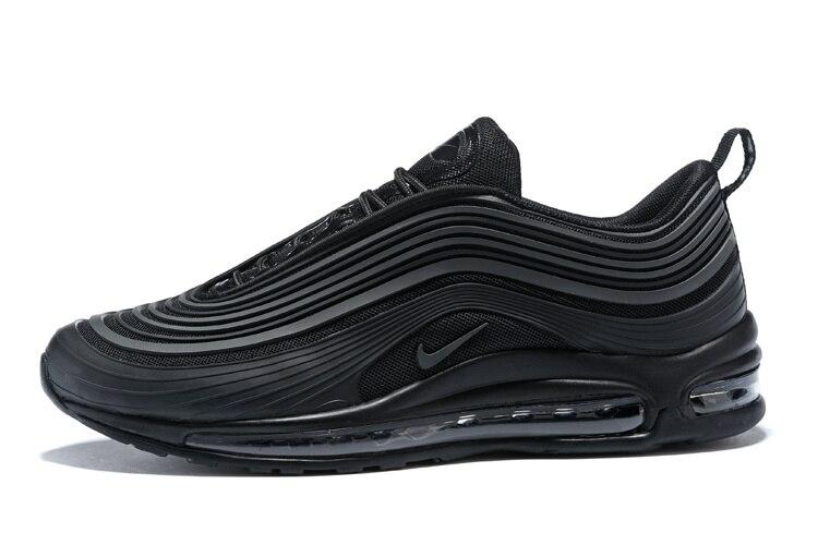 D'origine nouveauté Nike Air Max 97 UL '17 Femmes chaussures de course de baskets de sport Gym Nike Air Max 97 UL 17 Airmax 97 femmes Noir