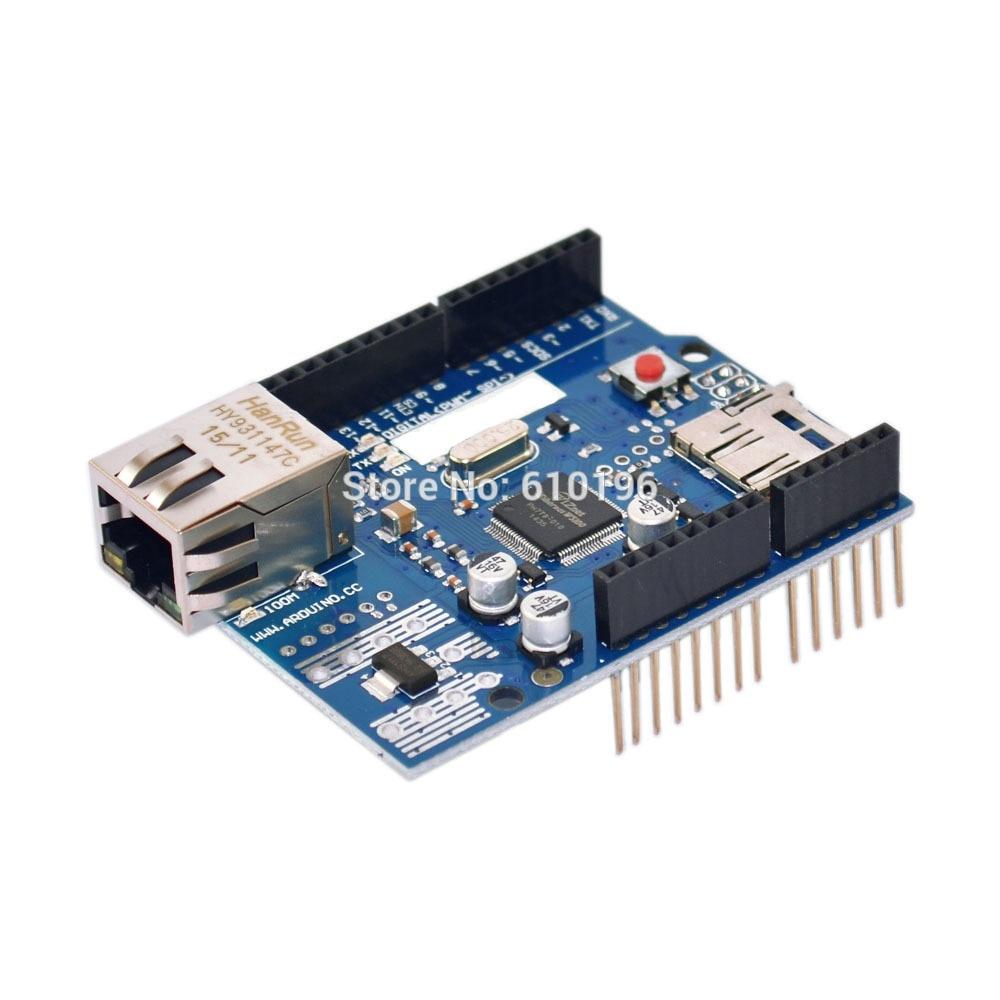 W5100 Module Development Board For font b arduino b font UNO R3 MEGA Ethernet font b