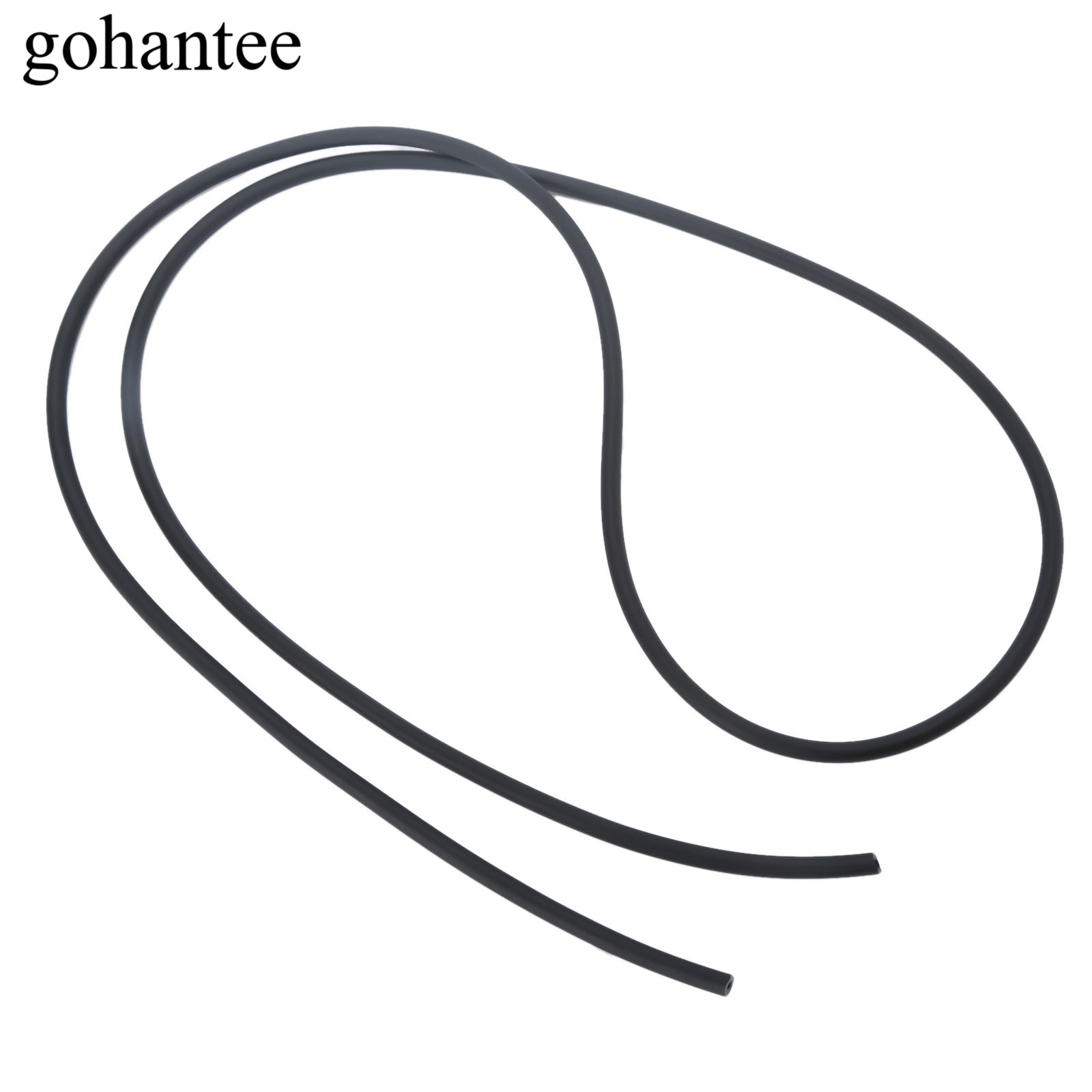 Gohantee Black 1m Natural Latex Rubber Tube Elastica