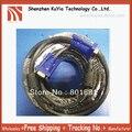 Бренда 15 м SVGA 15 PIN Мужчинами Super VGA Монитор Кабель-Удлинитель Синий + Бесплатная Доставка