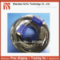 Brand 15m SVGA 15 PIN Male to Male Super VGA Monitor Extension Cord Cable Blue  +Free Shipping