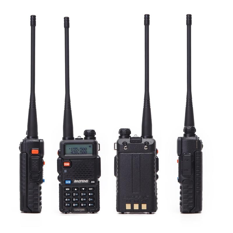 2PCS Baofeng UV-5R Walkie Talkie Portable Radio Station 5W 128CH VHF UHF Dual Band UV5R Two Way Radio for Hunting Ham CB Radio 3