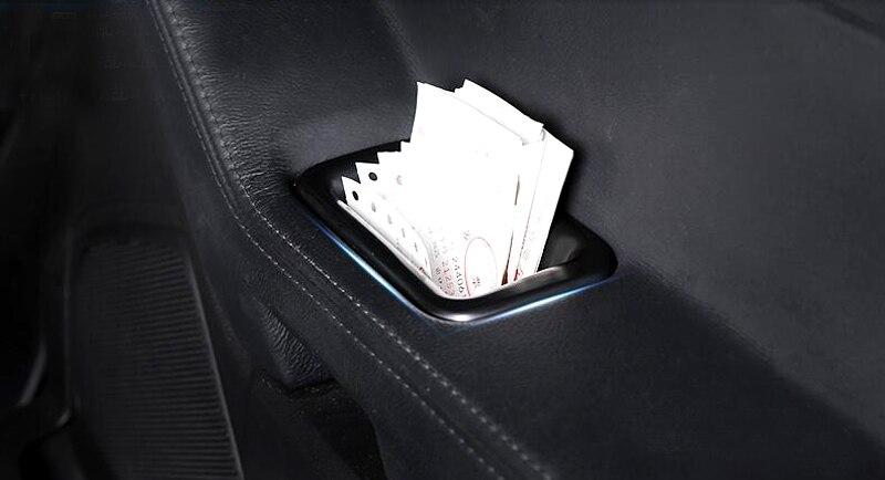 For Ford Explorer 2011 2012 2013 2014 Inner Door Storage Box Holder Cover 4pcs/set