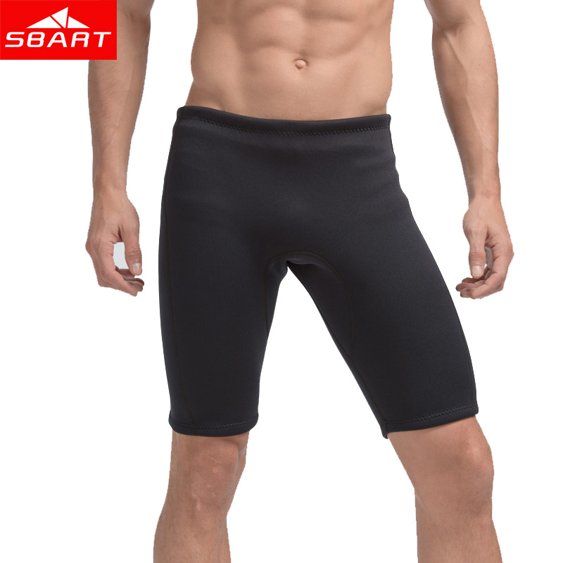 SBART Surfing Wetsuit Pants 3mm Neoprene Short Pants for Men Diving Snorkeling Swimming Rashguard Trunks Wetsuit Plus Size 4XL