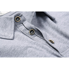Enjeolon brand quality Mens short sleeve polo Shirts plus size 4XL 7 colors solid black Clothing Tops Tee free shipping T1687