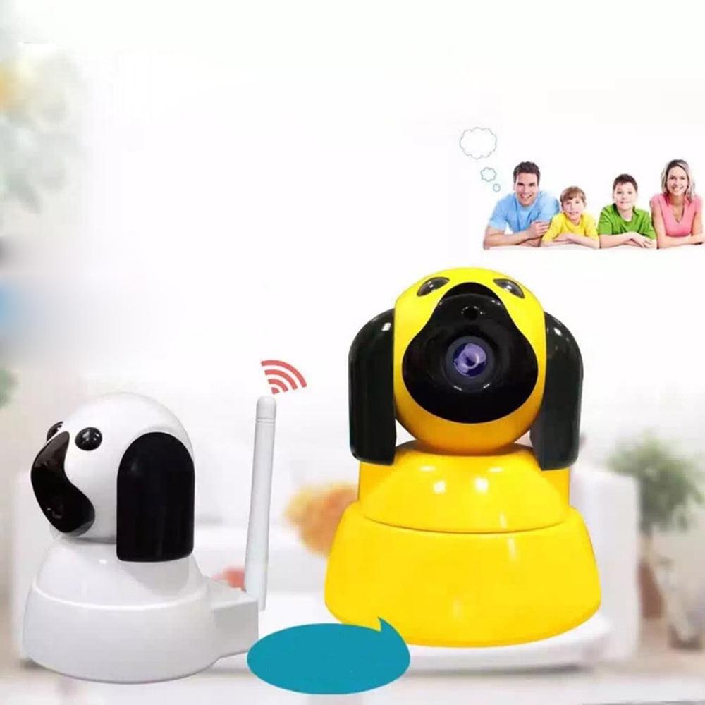Caméra sans fil sécurité à domicile caméra IP chien intelligent Wi-Fi 720 P circuit fermé télévision intérieur infrarouge vision nocturne bébé moniteur