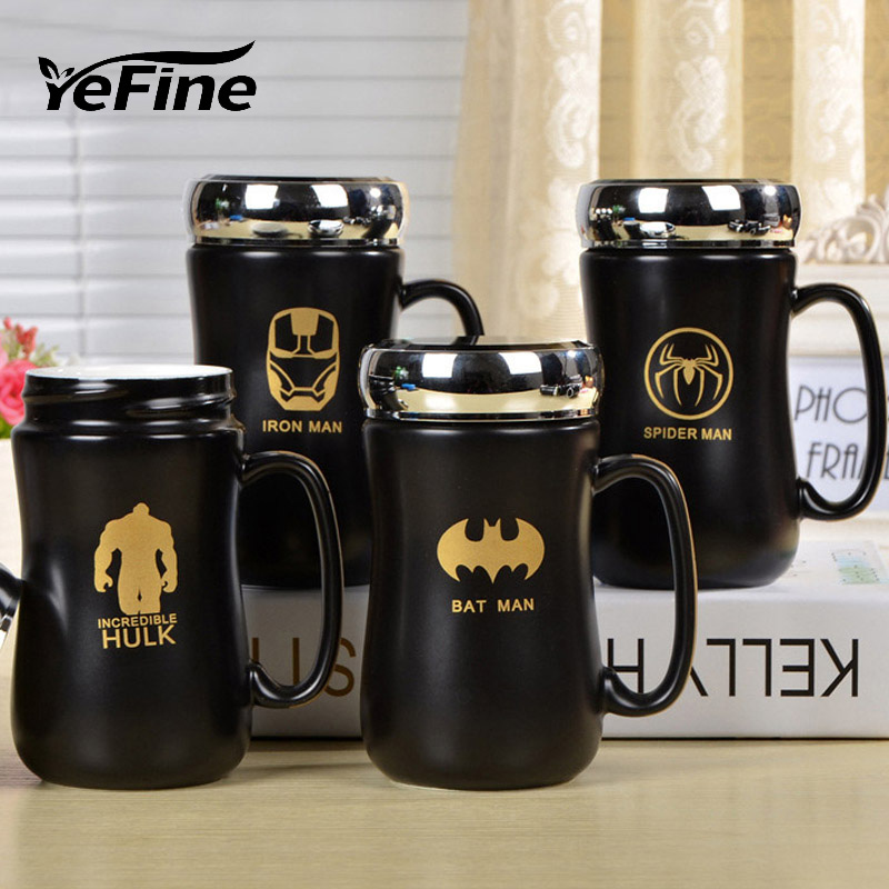 YeFine Ceramics Individuality Cups And Mugs The Avengers