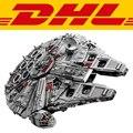 2017 LEPIN 05033 5265 Unids Star Wars Halcón Milenario del Último Colector Modelo Kit de Construcción de Bloques de Juguete del Ladrillo Para Los Niños 10179