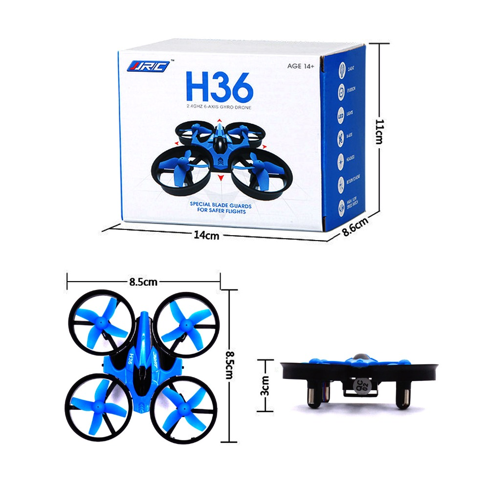 Newest jjrc h36 PK h20 x1 h8c Mini Drone 6 Axis RC Micro Quadcopter With Headless Mode One Key Return Vs H8 Toys Kid rc airplane jjrc h8d 2 4ghz rc drone headless mode one key return 5 8g fpv rc quadcopter with 2 0mp camera real time lcd screen s15853