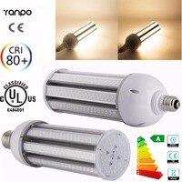 כניסות חדשות 1 יחידות עמיד למים מתח גבוה E26 E27 E40 E39 LED תירס הנורה 40 W 45 W 50 W 55 W 65 W 75 W אורות מנורת תאורת תירס IP64