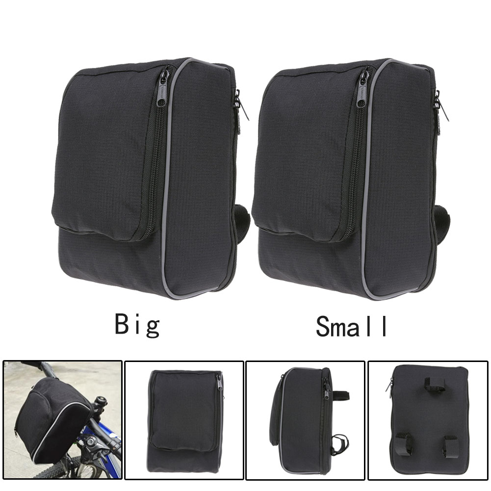 Bike Handlebar Bag Bicycle Waterproof Key Phone Wallet Holder Bicycle Storage Basket Bag Waist Smart Phone Bicycle Storage Bag
