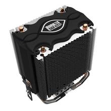 PCCOOLER cpu cooler 2 heatpipes 80mm LED blu-ray fan for intel LGA775 1150 1151 1155 1156 for AMD754 AM2 AM2+ AM3 CPU radiator