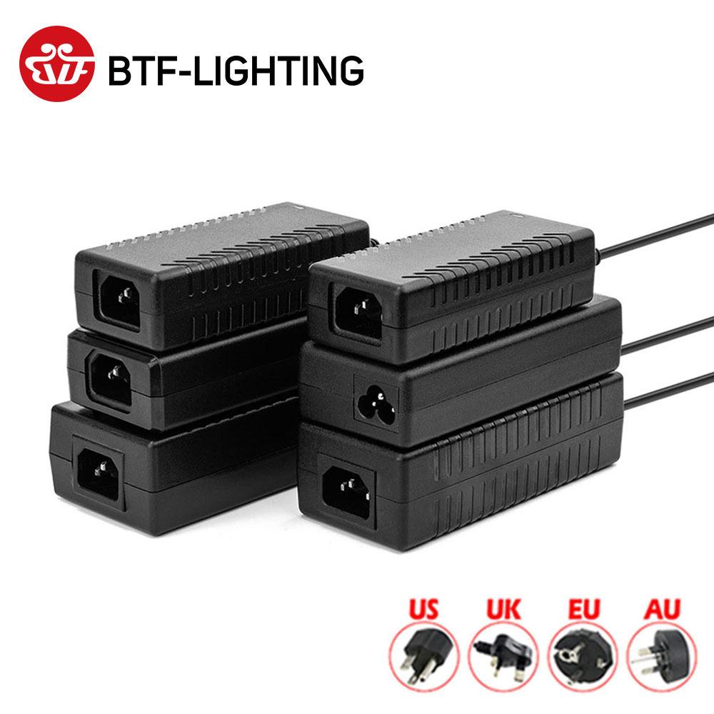 Светодиодный блок питания, 12 В, 1 а/2 а/3 а/5A/6A/7A/8A/10A, адаптер для Великобритании/США/ЕС/Австралии, 2811 5050 3528 Светодиодный