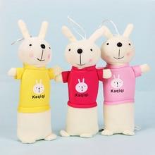 Cartoon Animal Pencil Case Plush Rabbit Box School Supplies Stationery Gift Cute Pencilcase Bag