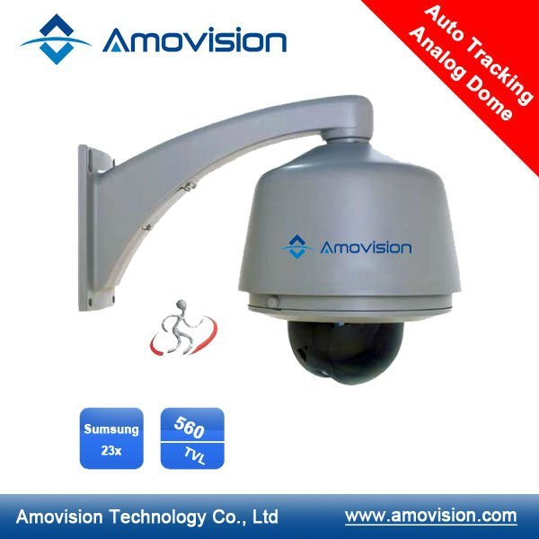 Amovision AM-T823 23X 560TVL Auto Tracking High Speed Dome Analog  CCTV Camera  TV Security  Video  Watch Me