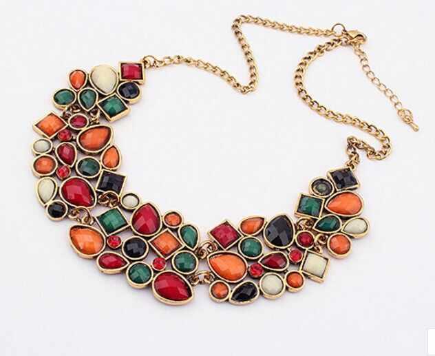 قلادات ومعلقات ذهبية على الموضة للسيدات عقد ماكسي كولير نسائي عتيق مجوهرات Collares Mujer Kolye بيجو