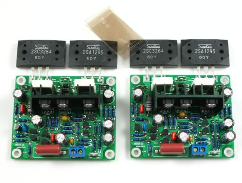 Improved MX50 SE Power Amplifier Assembled Board Dual 2.0 Channel 100W+100W HIFI