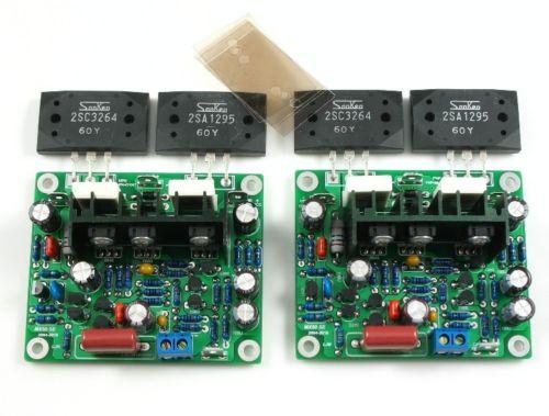 Improved MX50 SE Power Amplifier Assembled Board Dual 2.0 Channel 100W+100W HIFI