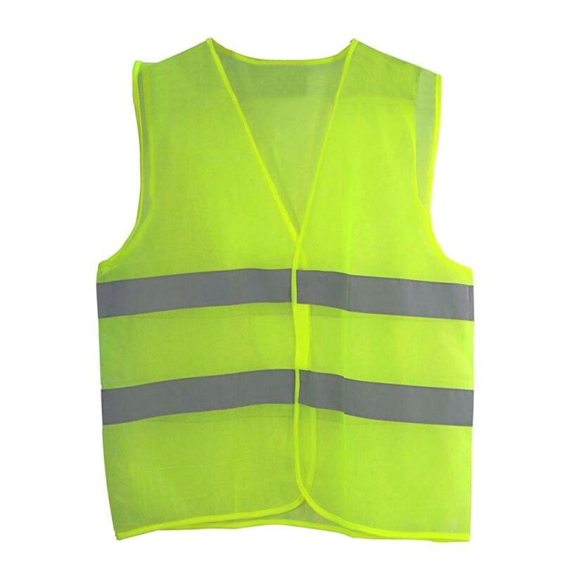 outdoor running safety race vest high visibility reflective fluorescent vest 699987000761 ebay. Black Bedroom Furniture Sets. Home Design Ideas
