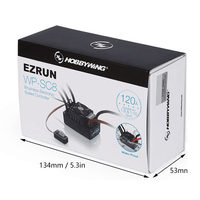 Original New HOBBYWING Version EZRUN WP SC8 Waterproof 120A ESC Speed Controller