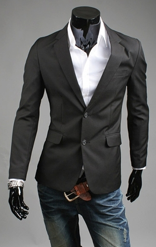 2016 Spring and Autumn New England men's casual Slim Fit solid color Suit jacket Men's brand  Fashion Suits coats