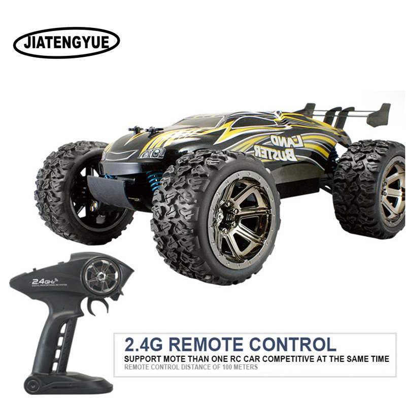 2.4G Thunder Off-road RC Cars Rock Climbing Crossing 4x4 Double Motor High Speed Off-road Vehicles 1:12 Remote Control Car Toys