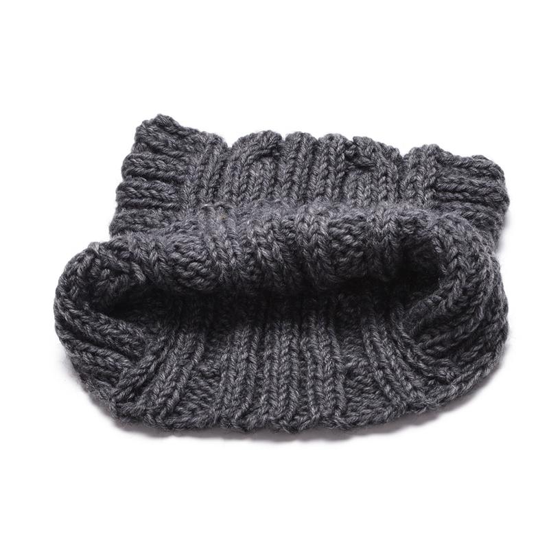 Cute Cat Ear Meow Kitty Woman Wool Hand Knit Cap Beanie funny winter hats  for women Girl hats Winter Autumn Bonnet Cap A004 7f384f55701d