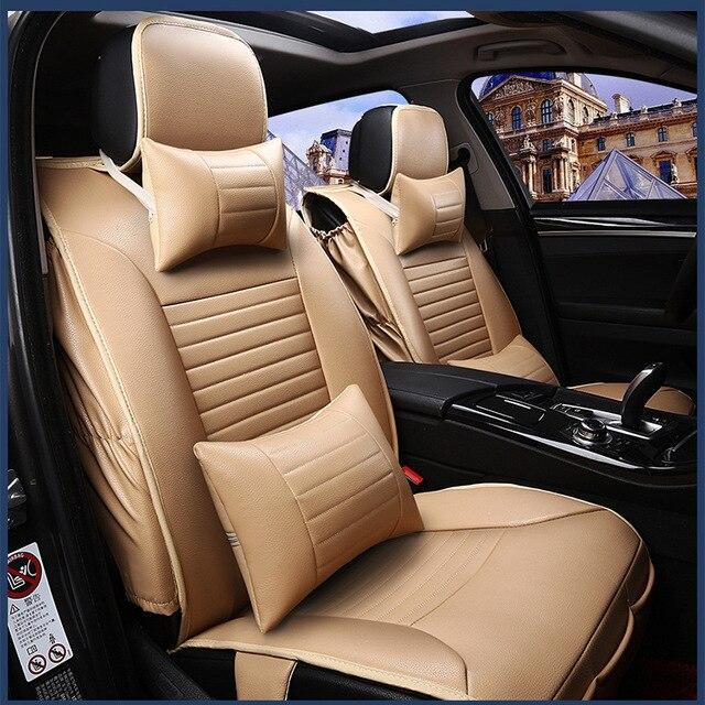 Asiento de coche cubre para Holden Commodore Colorado Cruze estrenar de cuero suave de la pu delantero y trasero cubiertas completas de seguridad a prueba de agua easy clean